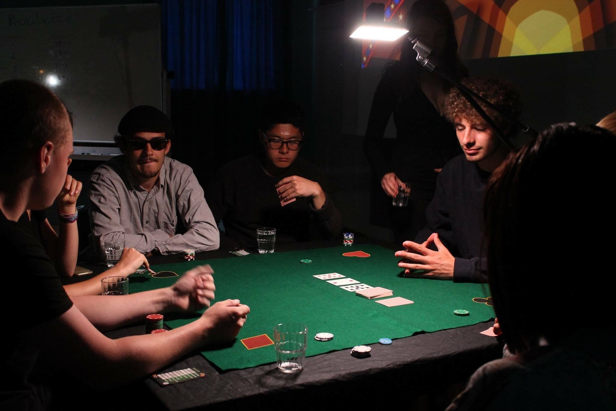 Folk High School Activity at International People's College in Denmark poker night