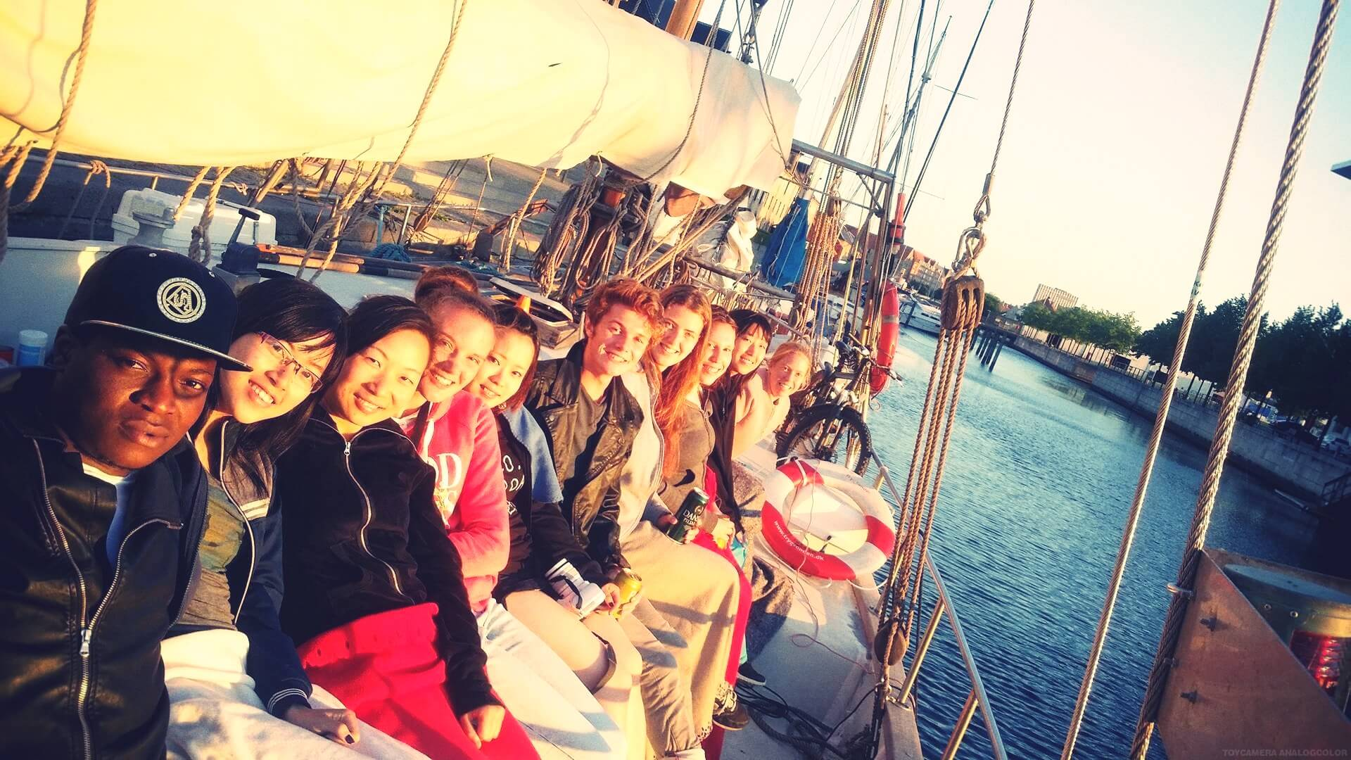 Folk High School Excursion at International People's College in Denmark