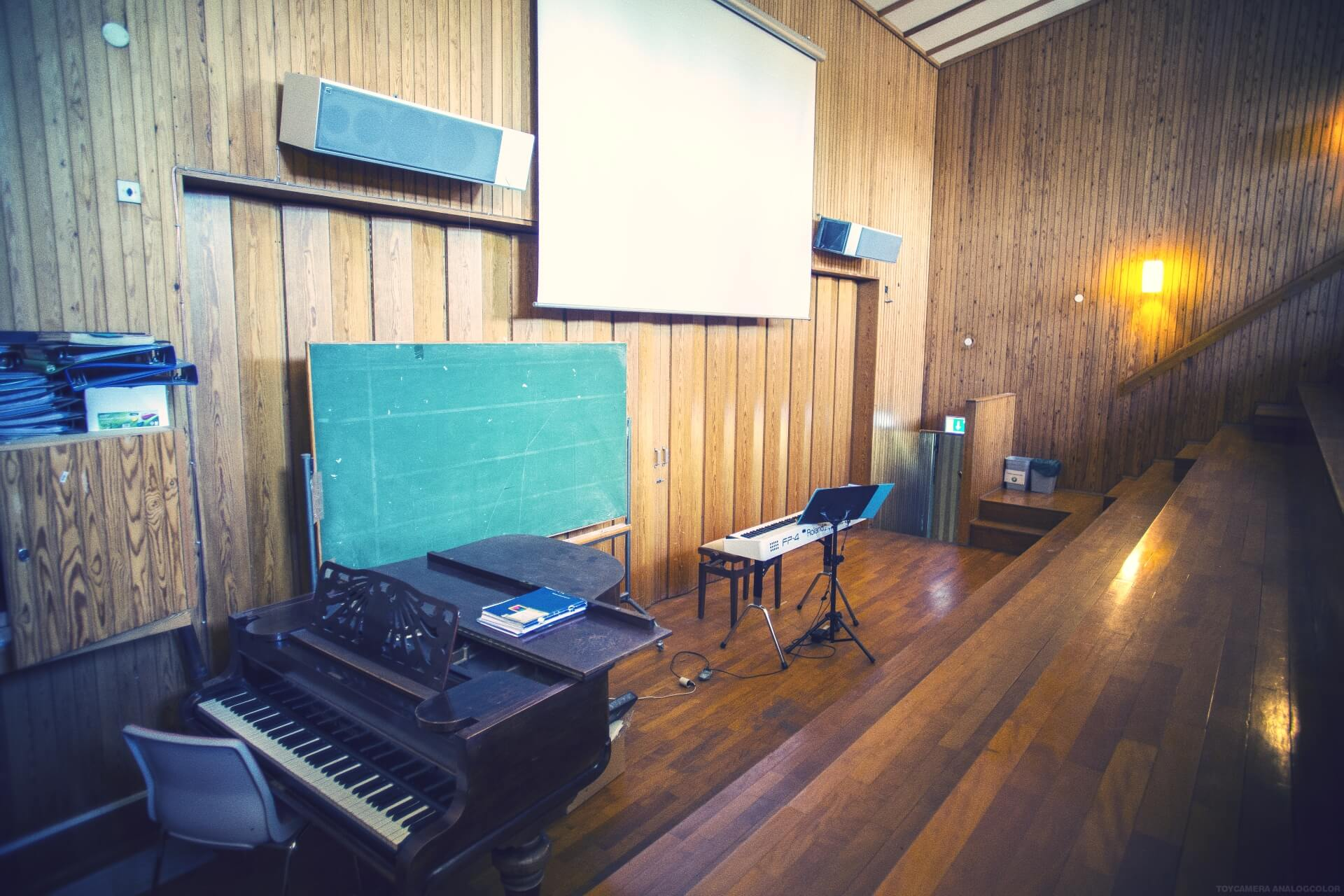 Folk high school classroom at Internatioal People's College in Denmark 4