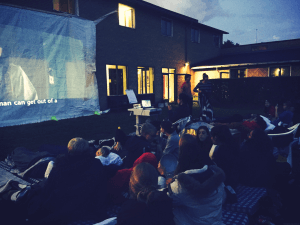 IPC - Movie night at our Folk High School in Denmark - International People's College