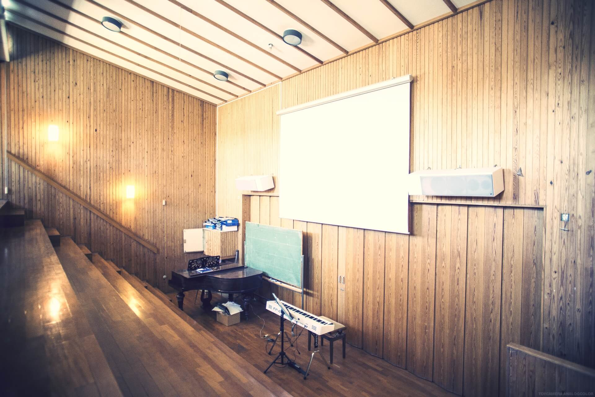 folk high school classroom at Internatioal People's College in Denmark 3