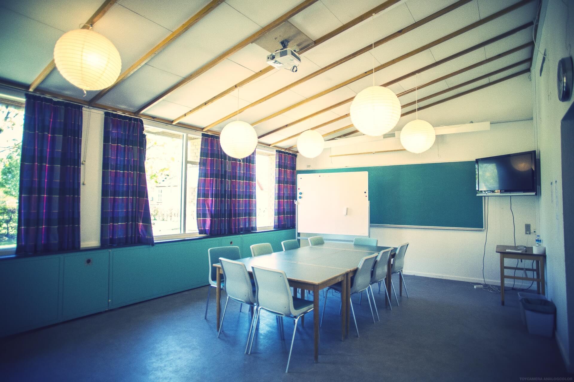 folk high school classroom at Internatioal People's College in Denmark 5