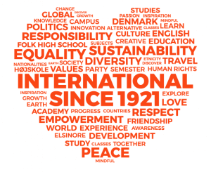 IPC - International People's College heart stand logo