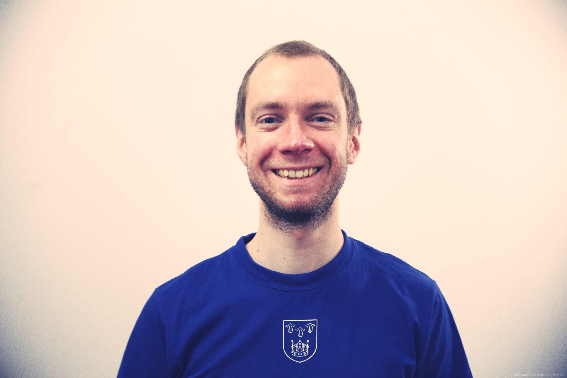 Petr - Danish Folk high school teacher at International People's College