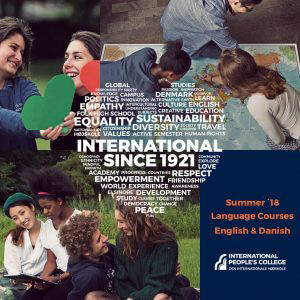 IPC - Brochure summer courses 2018 - International People's college