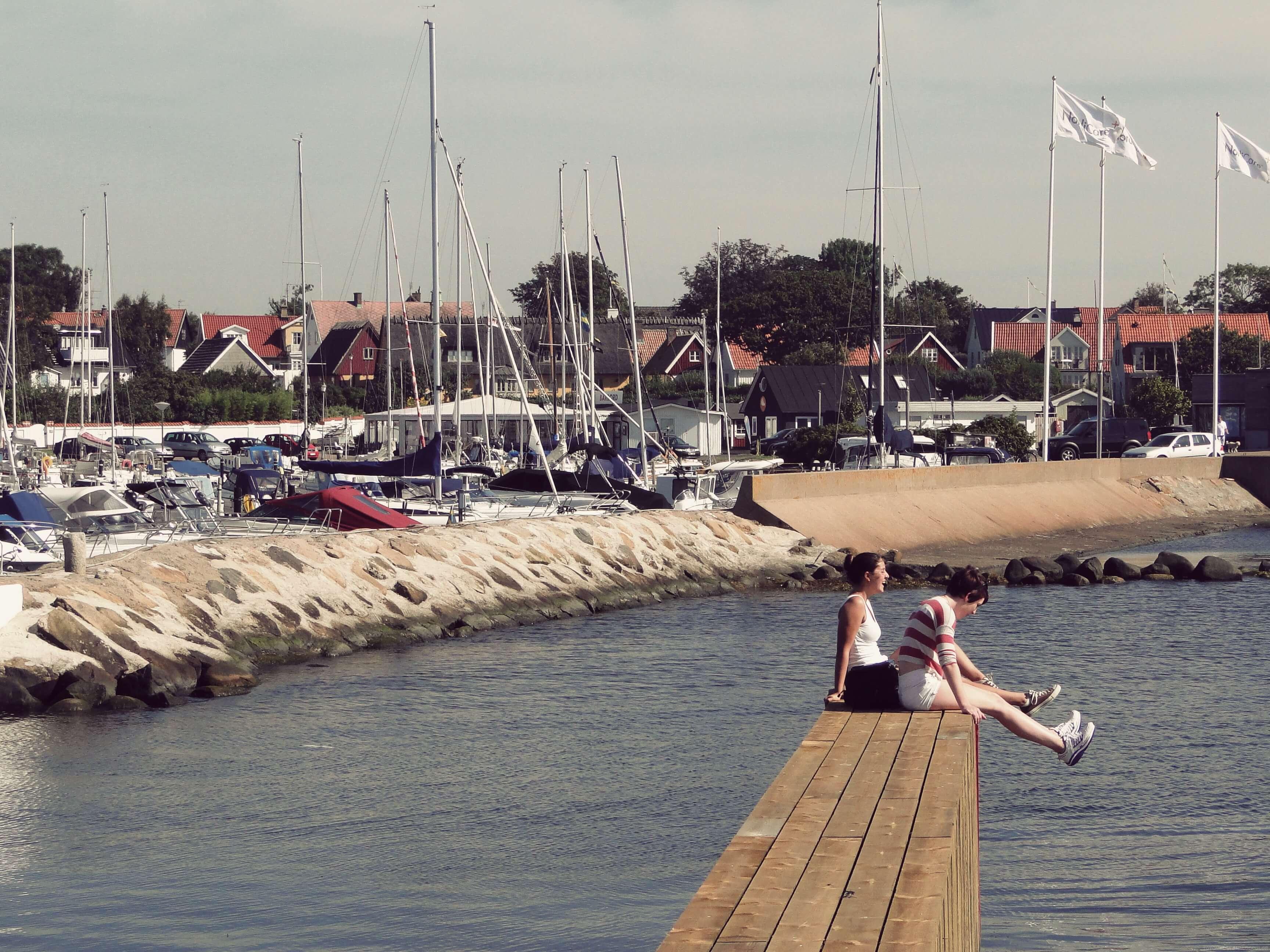 IPC - Helsingør aka Elsinore habour - International People's College - a Folk High School in Denmark