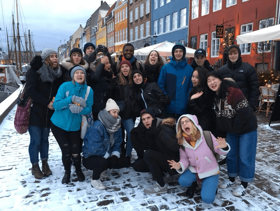 Folk High School life and the city class - visiting Copenhagen - International People's College