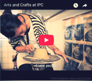 Watch - Arts and crafts at International People's College