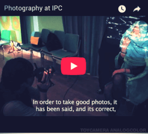 IPC - Watch -Photography at International People's College