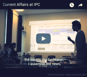 Watch - Current Affairs class at International People's College