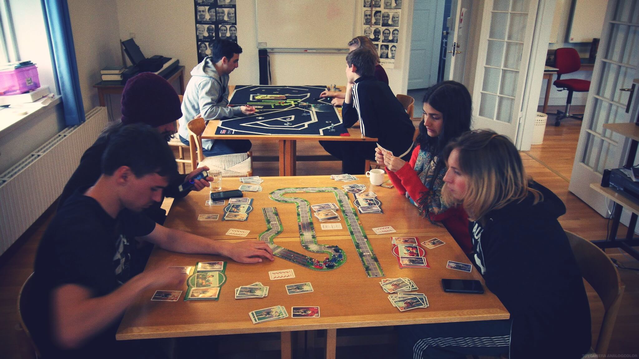 folk high school tabletop games class at International People's College in Denmark 1