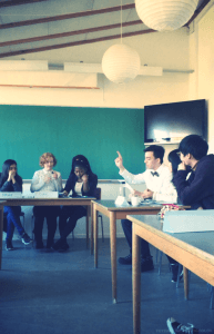 IPC - Peace and conflict, class at International People's College, den Internationale Højskole