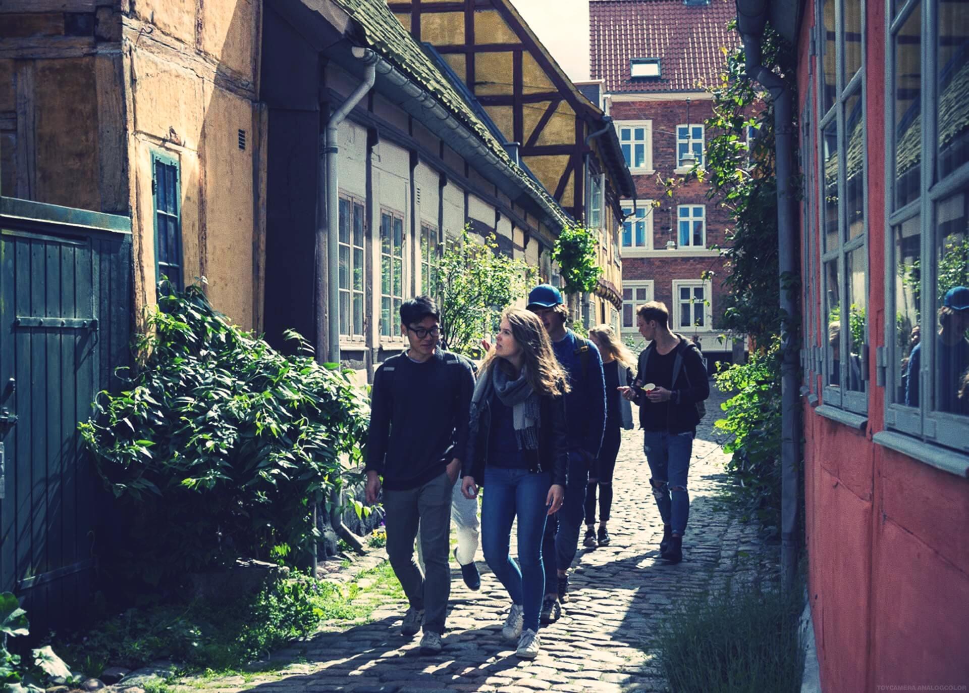 IPC - Helsingør aka Elsinore - International People's College - a Folk High School in Denmark