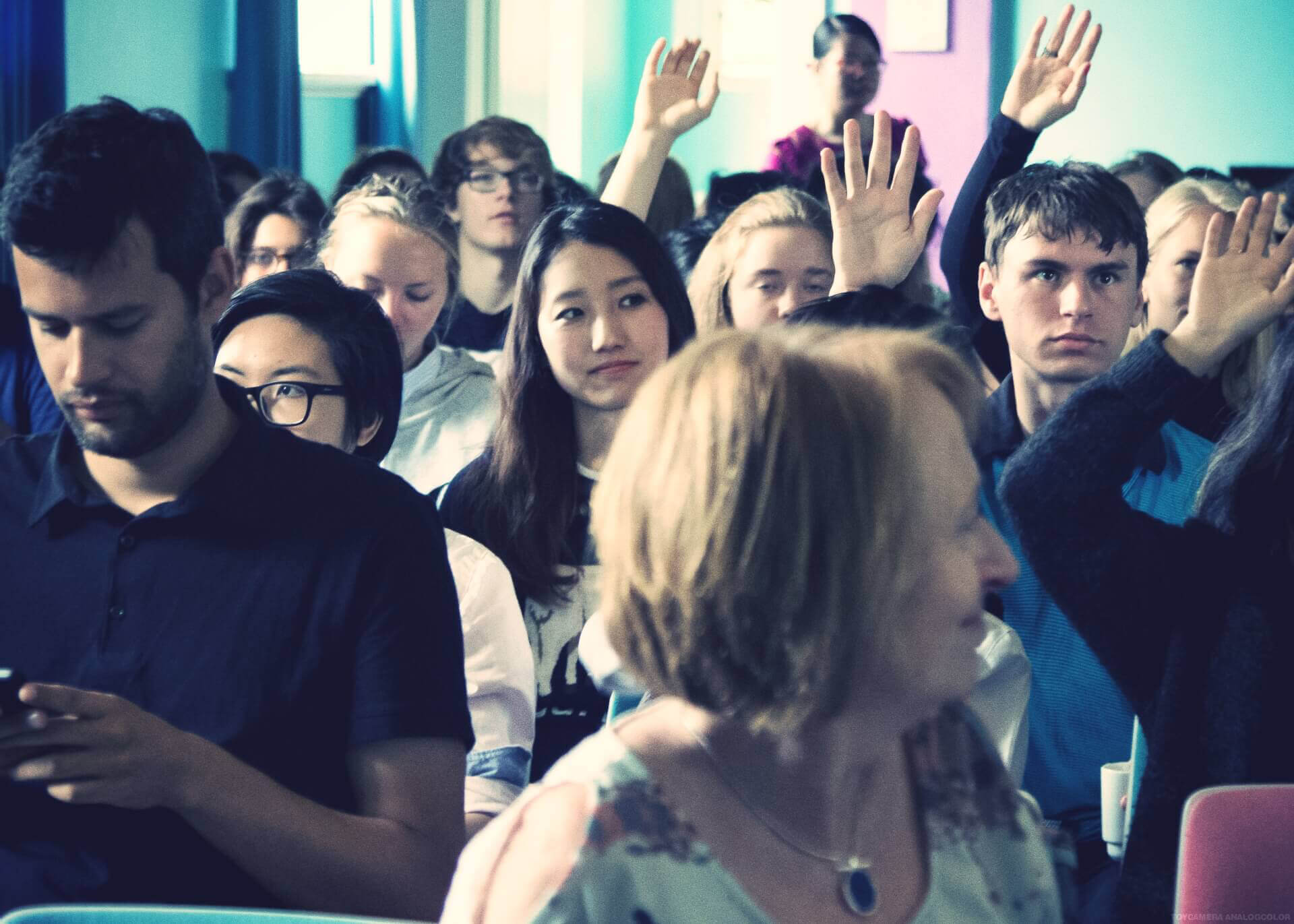 Morning Fellowship at International People's College - An International Folk High School in Denmark