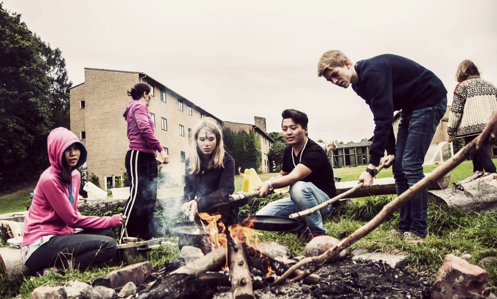 IPC - Outdoor And Teambuilding at International People's College a folk high school in Denmark