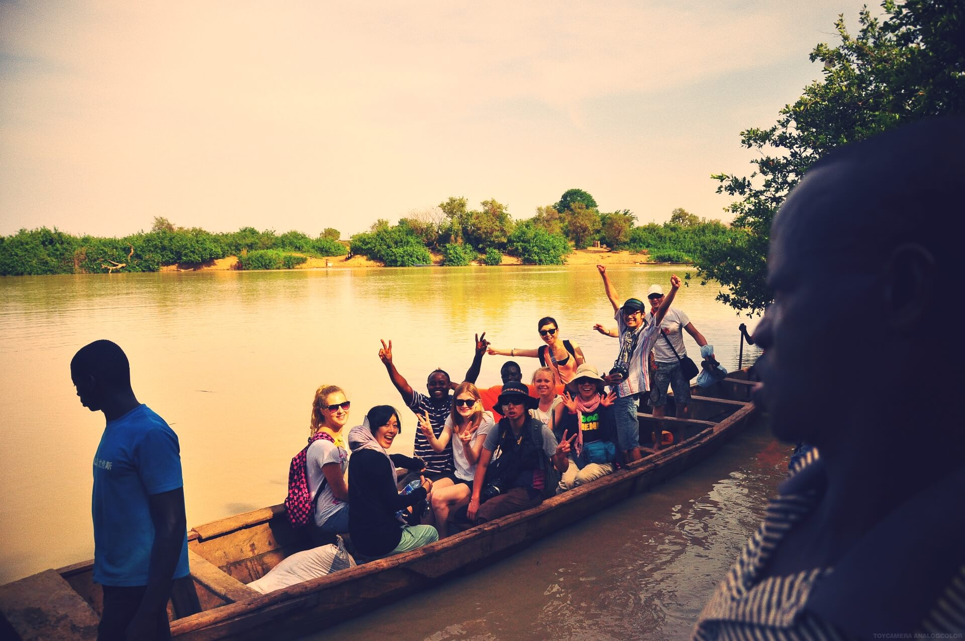 IPC - River Ghana study trip at International People's College a Folk High School in Denmark