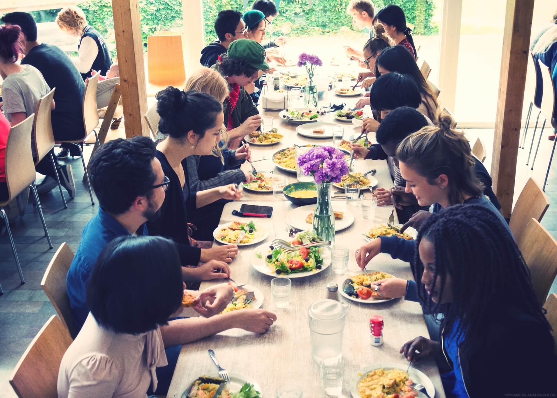 Folk High School Food at International People's College in Denmark3