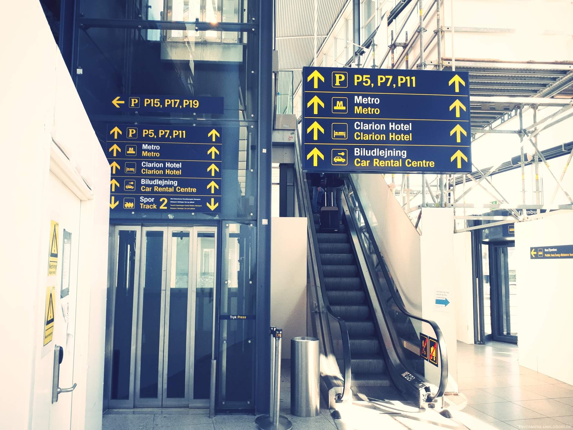 How to get to International People's College from the airport 3