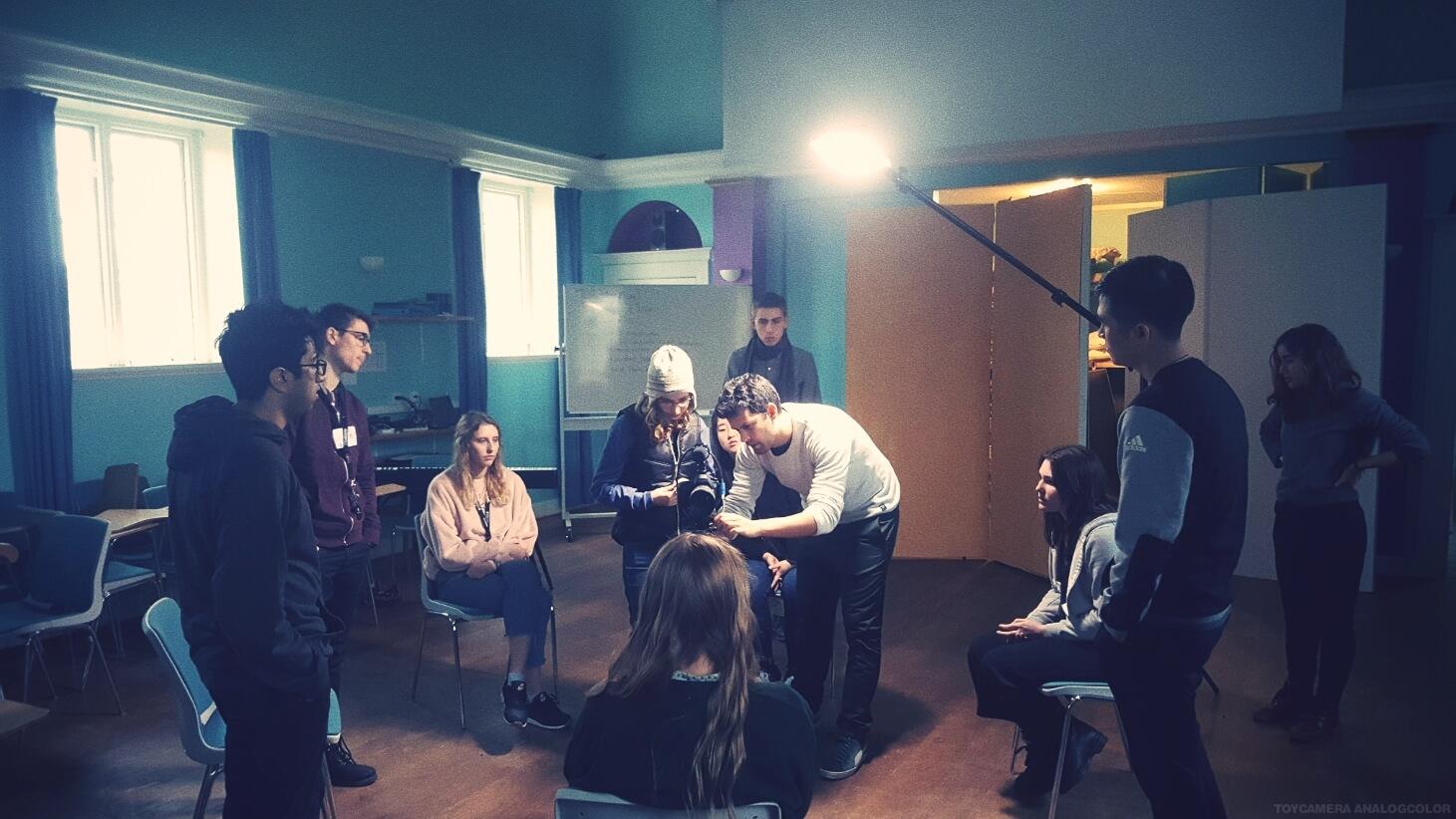 Folk High School Moviemaking Class at International People's College in Denmark