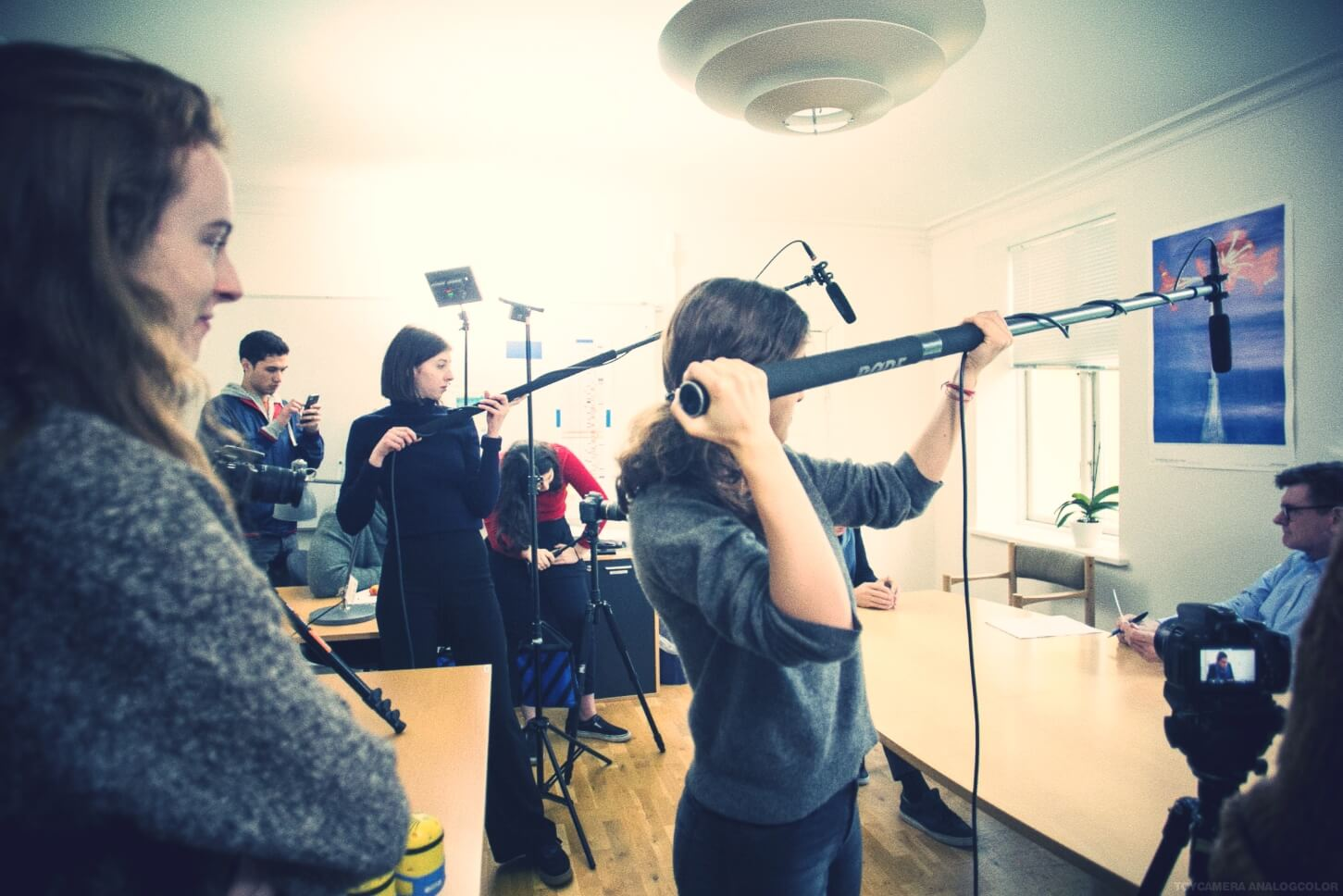 Folk High School Moviemaking Class at International People's College in Denmark