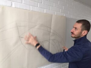art class at International People's College