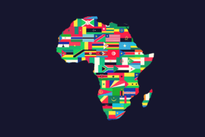 Africa made by African flags